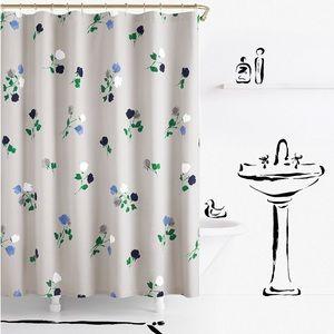 Kate Spade ♠️ Shower Curtain
